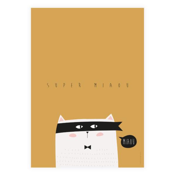 Affiche Super Miaou