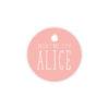 Sticker rond Naissance Pomme