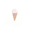 broche glace rose