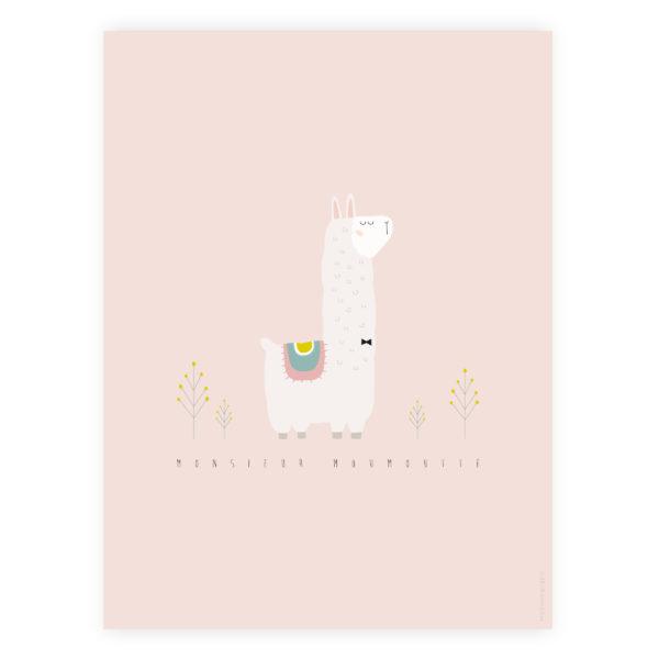 Affiche Alpaga