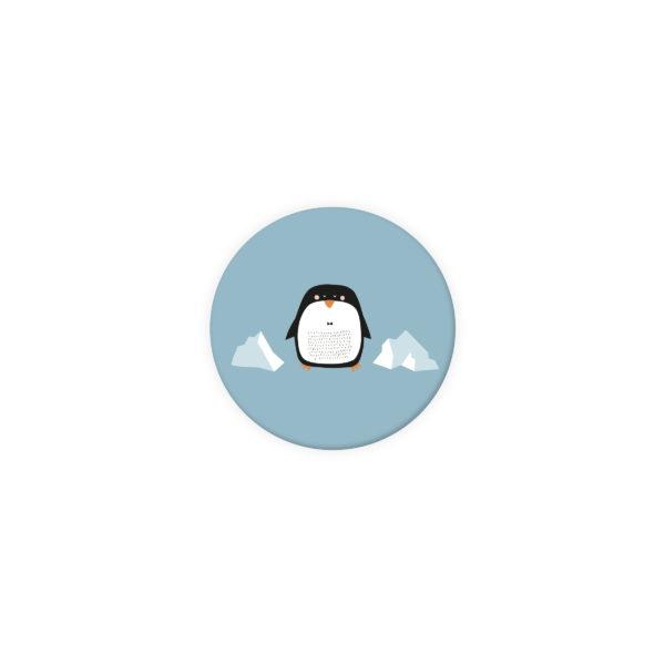 badge naissance pinguoin