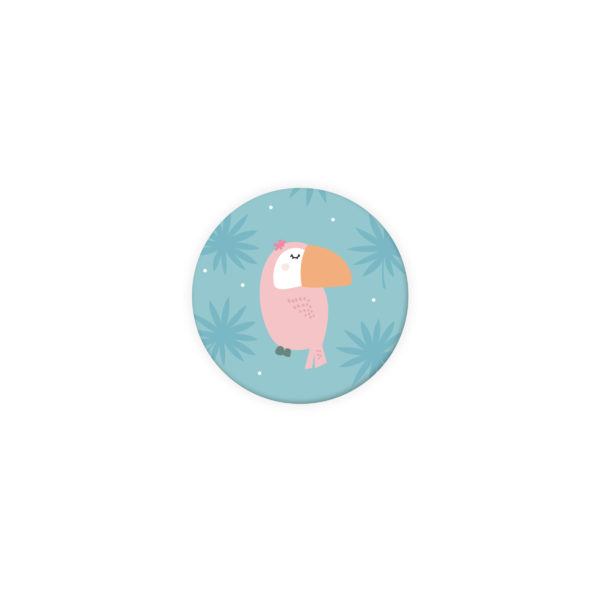 badge naissance toucan