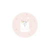 stickers lapin naissance