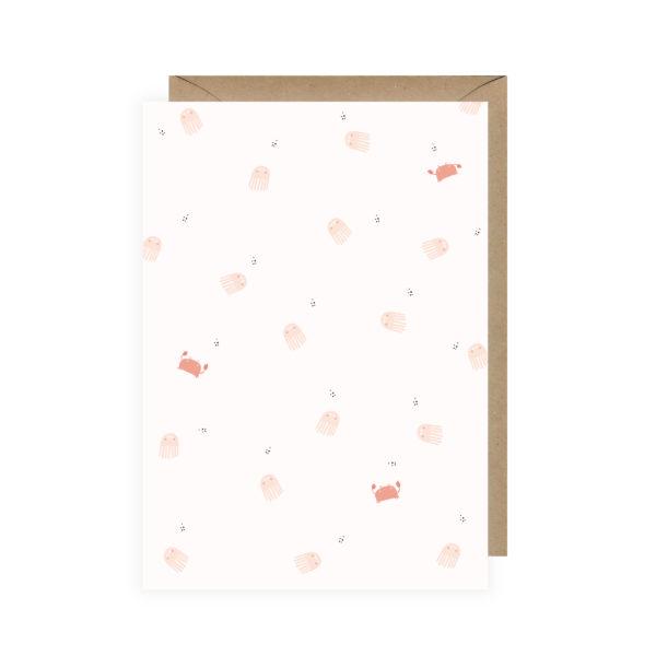 carte postale mer