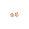 boucles d'oreilles en bois pomme